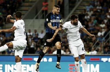 Inter goleó a Fiorentina