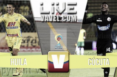Resultado Atlético Huila - Cúcuta Deportivo (3-0)