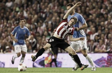 Iker Muniain ante Osasuna en la temporada 2011/2012. | Foto: Athletic.