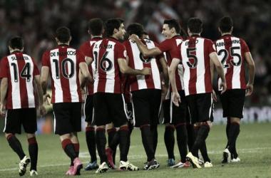 Estreno goleador de San José y Aduriz