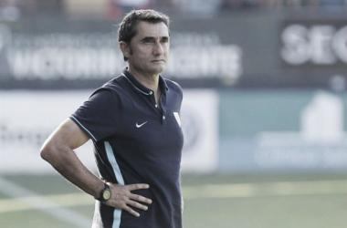 """Ernesto Valverde: """"Tenemos un buen resultado a favor, pero no es definitivo"""""""