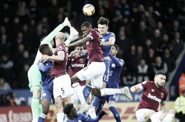 Tablas entre Leicester y West Ham. | Fotografía: Leicester City