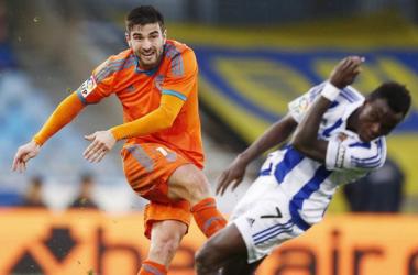 Real Sociedad - Valencia: puntuaciones del Valencia, jornada 19 de la Liga BBVA