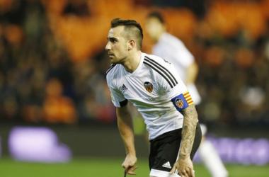 Paco Alcácer: capitanía, gol y lesión