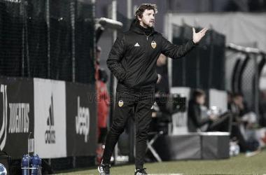 Mista durante un partido | Fotografía: Valencia CF