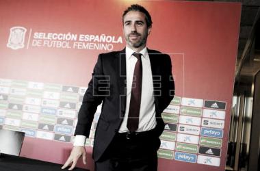 Jorge Vilda muy contento tras el empate ante Japón | Fotografía: EFE