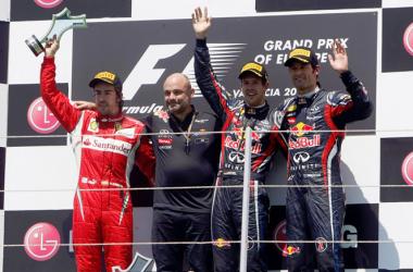 Red Bull domina y Alonso acaba en la mejor posición posible