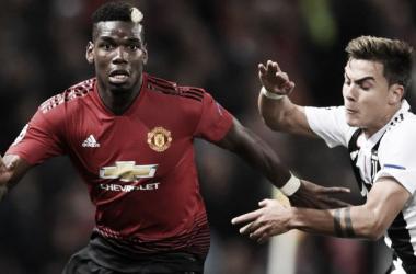 Pogba y Dybala. Dos jugadores que pueden ser claves en este duelo | Fuente: Manchester United.