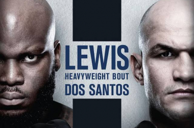 Luta Lewis x Junior Cigano dos Santos na UFC Night Fight