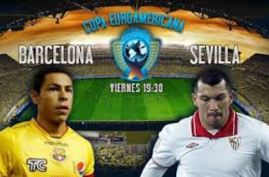 Barcelona se enfrenta hoy al Sevilla por la Copa Euroamericana