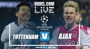 Champions League: Tottenham e Ajax a caccia di un posto nella storia della competizione
