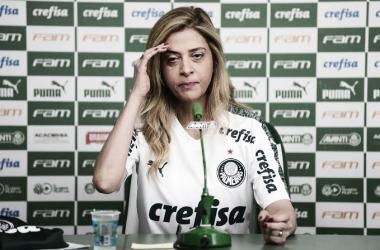 """Leila Pereira critica possível adiamento de Palmeiras x Flamengo: """"Regra tem de ser igual para todos"""""""