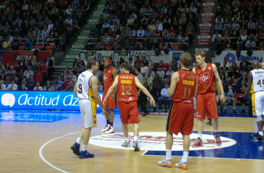 Las individualidades evitan una derrota más abultada del Blancos de Rueda en Zaragoza