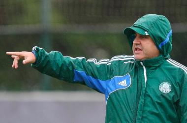Gilson Kleina foi suspenso por 1 jogo depois da confusão na partida contra o Sport-PE (Foto: Reprodução)