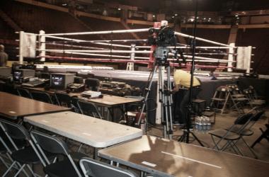El periodismo me llevó a la primera fila de un ring situado en Manchester