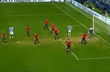 El Málaga dominó el ataque y Osasuna, la defensa.