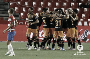 La victoria se le resiste al Valencia
