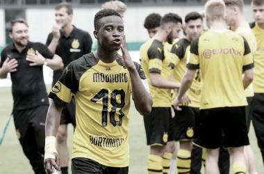 Youssoufa Moukoko, la perla del Borussia Dortmund