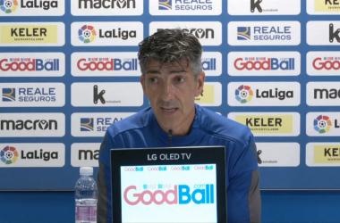 """Imanol Alguacil: """"No es el partido importante de la temporada"""""""