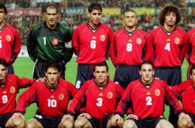Once inicial de la selección española en el Mundial de Francia | Fuente: zimbio
