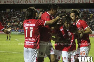 Francisco Rivera fue el autor del cuarto gol de Mineros con un tiro desde adelante de la media cancha.