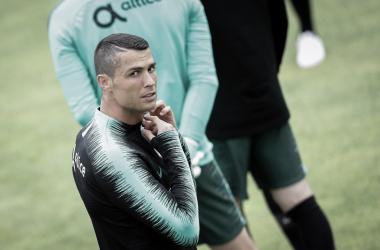 Cristiano participo en el amistoso ante Argelia en donde Portugal ganó 3-0   Foto: Prensa FPF