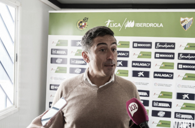 Antonio Contreras en rueda de prensa.   Foto: Javi Muñoz (VAVEL)
