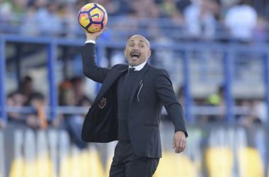 """Spalletti: """"Nos ha faltado muy poco para ganar, su portero ha estado muy bien"""""""