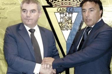 Manuel Vizcaíno y Enrique Pina | Foto: Cádiz VAVEL