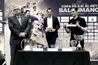 Emparejamientos 43ª edición Copa del Rey Balonmano masculino