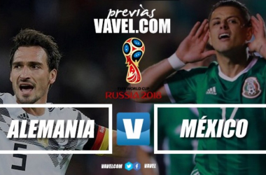 """Previa Alemania vs México: El Tri """"sin frio"""" ante la Mannschaft"""