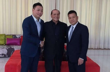 Han Li, Berlusconi e Yonghong Li, repubblica.it
