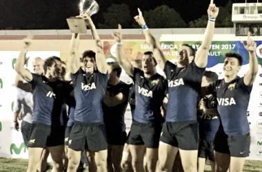 El triunfo ayuda al equipo argentino de cara al Circuito Mundial que se aproxima -Fuente: Prensa UAR