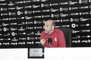 """Monteagudo: """"A nivel de fútbol estuvimos mejor"""""""