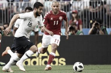 Francia y Dinamarca nos dieron prácticamente el peor partido de lo que va en Rusia | Foto: Prensa FIFA