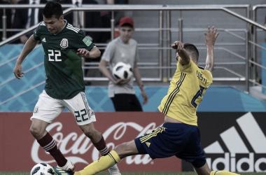 Mexico y Suecia jugaban por un pase a la siguiente Ronda I Foto: Prensa FIFA