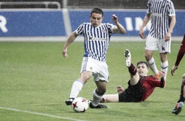 El Sanse no pudo hacerle ni un solo gol al Mirandés / Foto: Real Sociedad