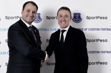 El Everton lucirá nuevo patrocinador