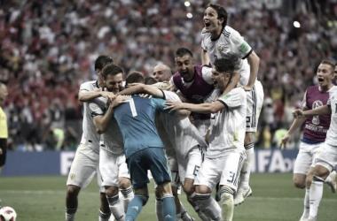Rusia logro su sueño I Foto: Prensa FIFA
