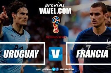 Previa Uruguay - Francia   Foto: VAVEL