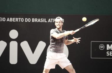 Sousa em ação no Brasil/ Foto: Renato Miyaji/ VAVEL Brasil