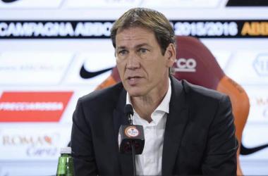 """Rudi García: """"No doy mucho peso a la tabla ahora, me concentro en nosotros"""""""