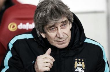 Pellegrini reprovou a atuação do City frente ao Leicester (Foto: Divulgação/Man City)