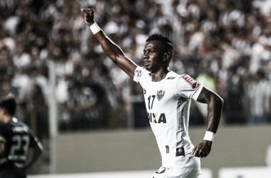 Hyuri não marcava um gol desde janeiro (Foto: Bruno Cantini/Atlético-MG)