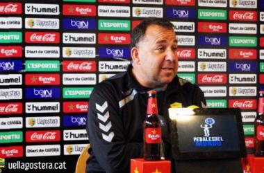 """Oriol Alsina: """"Ésta victoria tiene mucho mérito. El Oviedo es un equipazo""""."""