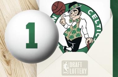 Lotería del Draft: 'its not luck' | Foto: Boston Celtics Twitter