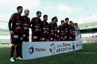 Formacion ante el Gallito. (Foto: Twitter Copa Argentina)