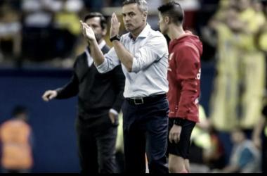 """Escribá: """"Buscábamos los tres puntos pero no estuvimos acertados"""" │Foto: villarrealcf.es"""