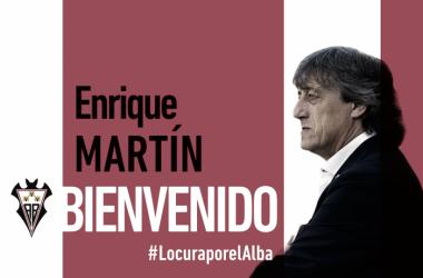 Enrique Martín Monreal, nuevo entrenador del Albacete