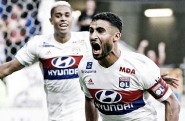 Fekir decide, Lyon derrota Monaco e retorna às primeiras posições da Ligue 1